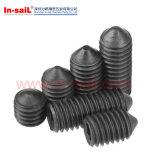 ISO7435 DIN417 Staal Ingelaste Setscrews Met hoge weerstand
