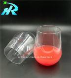 15oz de plástico barato bebendo vinho, cerveja, copo de vidro