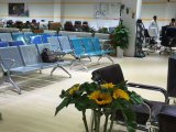 Chaise nouvelle conception en acier Chaise visiteur de l'hôpital public de haute qualité Chaise à l'aéroport de 3 places C66 # en stock