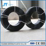 Tubo plástico del drenaje del agua del tubo 90m m del HDPE del negro superior del PE