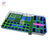 Handelstrampoline-Arena mit Qualitäts-buntem Trampoline-Park
