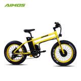 Fetter Gummireifen-Doppelt-Bewegungsabschüssiges elektrisches Fahrrad