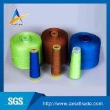 Fabricante de 20/2 5000 yardas de venta popular hecha girar el 100% de los hilados de polyester