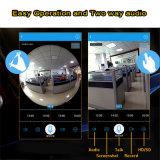 Wdmの機密保護360のパノラマ式のカメラ3.0MPの解像度のスマートなホームWiFiの電球IPのカメラ