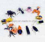 Coche solar plástico del insecto del juguete de los niños creativos de los cabritos del OEM