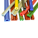 Forme anormale du silicone Extrusion profiles