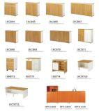 Compartiment en bois vérouillable de Module de mémoire de Credenza de bureau