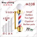 Lampe tournante décorative de système de coiffeur de Pôle de cheveu de salon de coiffeur magique de matériel