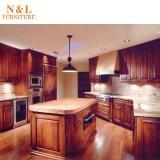 Module de cuisine neuf en bois solide de meubles de maison de type de 2017 luxes