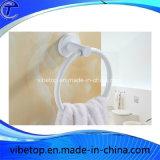 白い新式の創造的なリング状タオル掛けのタオル掛け