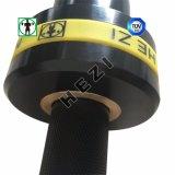 黒い亜鉛Crossfitの高い合金の重量挙げのBarbell棒