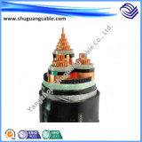 Nh com isolamento de PVC BVV paralelo fio retardante de chamas