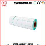 Bons collants de papier adhésifs Rolls d'impression thermique des prix et feuilles