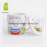 L'alta qualità all'ingrosso 11oz Plain la tazza di ceramica bianca del latte