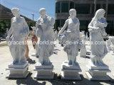 Marmeren Beeldhouwwerk, Marmeren Standbeeld