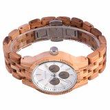 Reloj de madera de las ventas de manera del cuarzo caliente del reloj