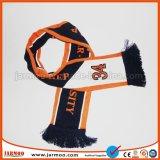 Heißer gestrickter Sport-Fußball-fördernder Schal