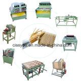 La Chine dent Picks baguette en bois de bâtonnets de gamme de machines de production des cure-dents
