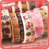 いろいろな種類のテープ、Washi再使用可能なペーパー付着力のテープ