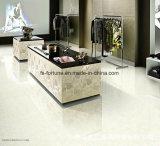 Mattonelle di pavimento Polished della porcellana del materiale da costruzione di caricamento di Bulatti di colore bianco doppie
