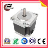 Motor de passo híbrido NEMA23 de 3,8Dg de 2 pontos para aplicação larga CNC
