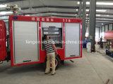 Spezielles Emergency Rettungsausrüstung-Löschfahrzeug-Aluminiumwalzen-Türen