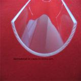 Het transparante Blad van de Boog van het Kwarts voor Gemaakte de Klant van het Glas van het Gezicht van de Boiler