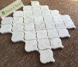 Арабеска Италии Carrara белая мраморный/плитки мозаики фонарика