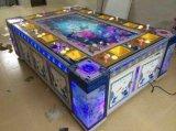Máquina de jogo de jogo da pesca da arcada da tabela a fichas