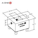 Máquina de EDM Prisound Titular eletrodo padrão de cobre (3A-500103)