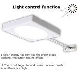 Comitato impermeabile SMD 2835 di energia solare indicatore luminoso della lampada della strada del giardino dei 25 LED piccolo della parete esterna chiara solare della via