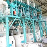 Getreidemühle-Pflanze, Mais-Mehl, das Maschinerie aufbereitet