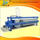 Pressa automatica del filtro dell'olio dell'alloggiamento della membrana pp con il sistema di lavaggio