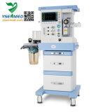 新しいモデルYsav700dのセリウムの証明書の移動式麻酔装置は換気装置の麻酔機械価格を追加する