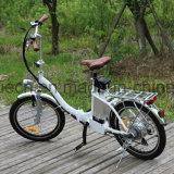 숙녀를 위한 전기 자전거를 접히는 20inch 타이어