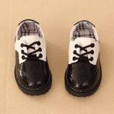 2017 enfants chaussures occasionnel en véritable cuir Chaussures enfants l'École des chaussures plates