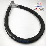 China-Zubehör-Stahldraht-verstärkter hydraulischer Schlauch (Rohr R15 SAE-100)