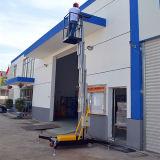 Antena de mastro única plataforma de trabalho (altura máxima de 9 metros)
