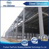 Magazzino chiaro prefabbricato della struttura d'acciaio di basso costo