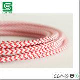 Elektrisches Textilgewebe-Kabel-Farben-Netzkabel-Baumwolldraht-Anhänger-Licht