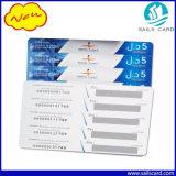 Papel ou de móbil ou de pilha do PVC cartão do Recharge do risco