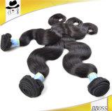 Cheveux humains brésiliens d'onde de cheveu de Vierge