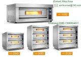 Commercieel Drie Dek Zes Oven van het Baksel van het Dienblad de Elektrische met Ce