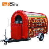 الصين جديدة تصميم [فست فوود] شاحنة لأنّ عمليّة بيع
