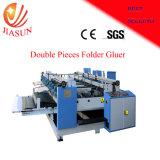Qyhx 2000 el doble de pedazos de cartón impreso doblado y pegado la máquina