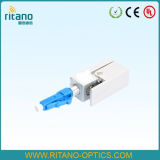 Cavo del collegamento di ottica di Opical della fibra di Opgw dell'adattatore ottico della fibra di LC con con poche perdite a 0.15dB