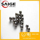 견본은 5mm G100 니켈에 의하여 도금된 작은 조각 강철 공을 해방한다