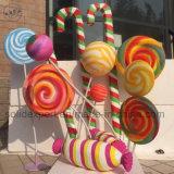 Fotographien-Dekoration der Sprung-Lutscher-Stütze-Luftblasen-Skulptur-Weihnachtsfenster-Bildschirmanzeige-Kindergarten-Kinder