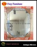 Frame van de Spiegel van de Muur van de Rechthoek van het Mozaïek van de manier het Decoratieve Houten