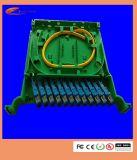 Caixa de distribuição da montagem de cremalheira ODF da fibra óptica dos núcleos do preço de fábrica 144